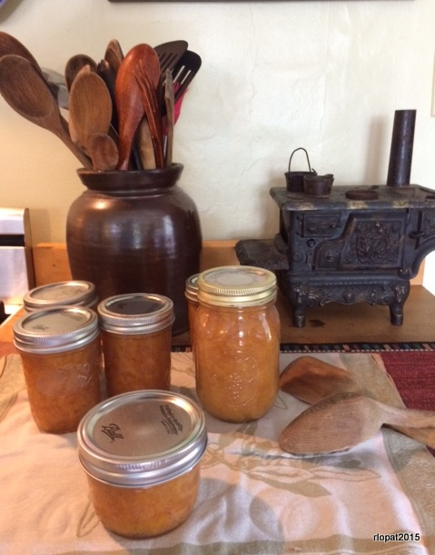 canning peach preserves